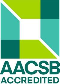 Graphic indicating accreditation by the Association to Advance Collegiate Schools of Business