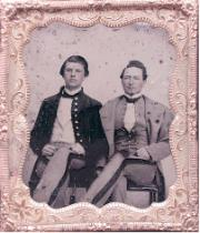 Two cadets  of the 1850's