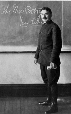 In his classroom at VMI