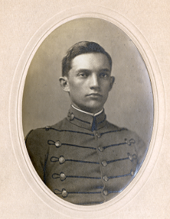 Photo of Collins as Cadet