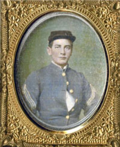 Colorful portrait  of Cadet Ezekiel