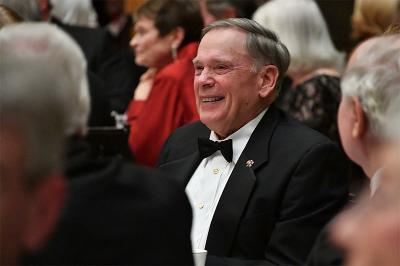 Gen. John Jumper attends the Institute Society dinner last November.