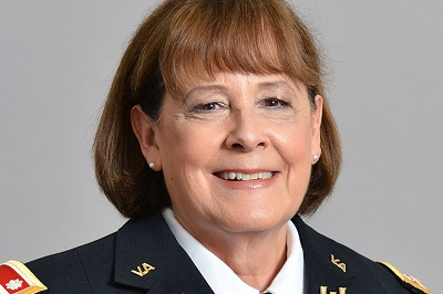 "Photo of HR Director Lt. Col. Eleanor ""Ellie"" Kania"