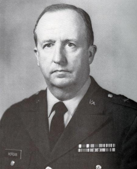 James Morgan portrait, Photo courtesy of VMI Archives.