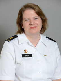 Maj. Julie P. Brown, Ph.D.
