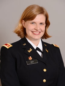 Lt. Col. Emily Lilly, Ph.D.