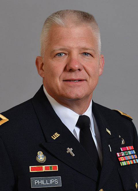 Chaplain Bob Phillips